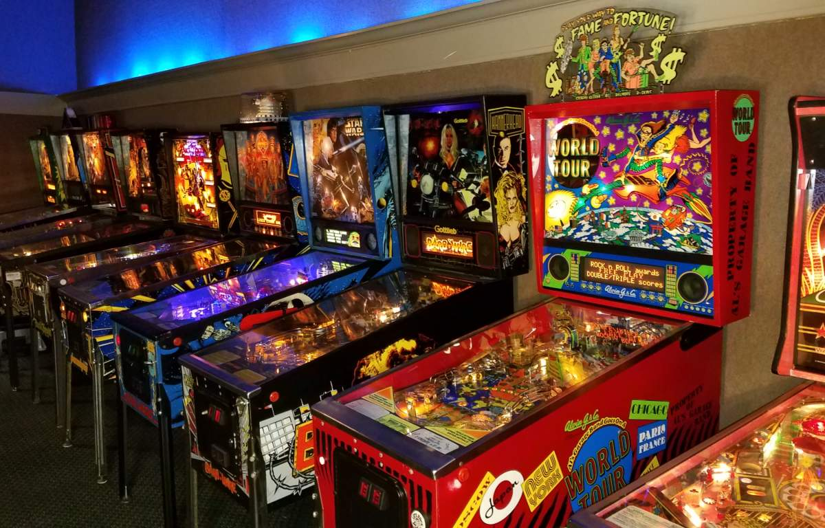 Appalachian museum opens in. Arcade clipart pinball