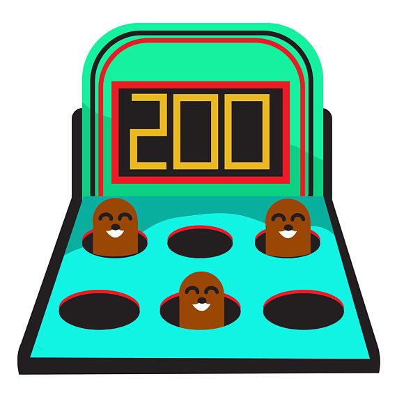 Game vectors clip art. Arcade clipart pinball