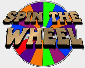 Spinning prize wheel wheels. Arcade clipart prizes