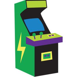 Arcade clipart retro arcade. Free download best on