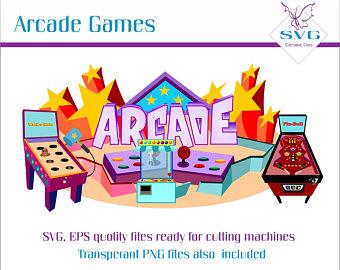 Arcade clipart ride. Etsy games wackamole game