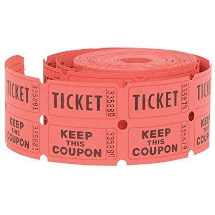 Buy raffle rolls incep. Arcade clipart roll ticket