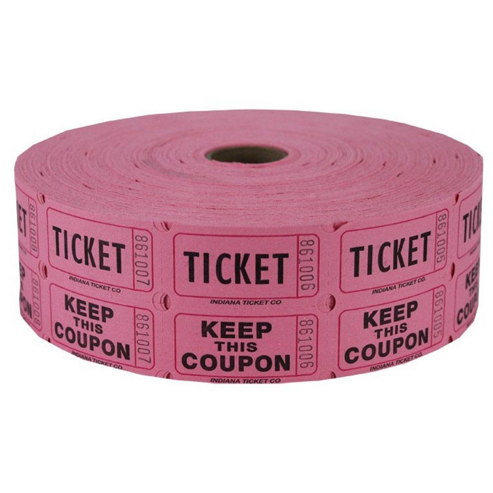 Arcade clipart roll ticket. Buy raffle rolls incep