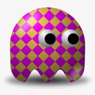 Pac man game video. Arcade clipart sign