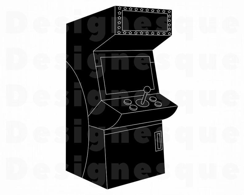 Arcade clipart svg. Files for cricut cut
