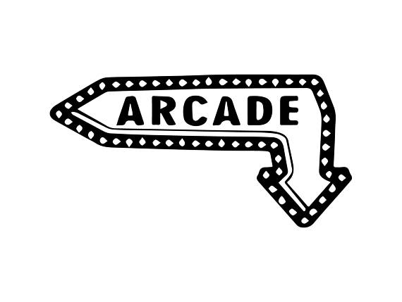 Game retro old play. Arcade clipart svg