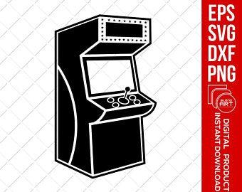 Arcade clipart svg. Etsy