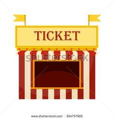 Arcade ticket booth