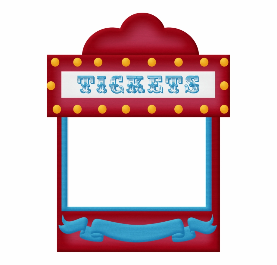 Raffle clipart ticket booth. Tickets circus