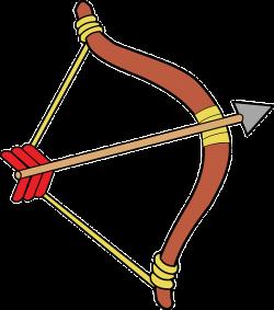 Vector freeuse indians arrow. Archer clipart archery bow