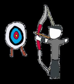 Puns . Archery clipart archery competition