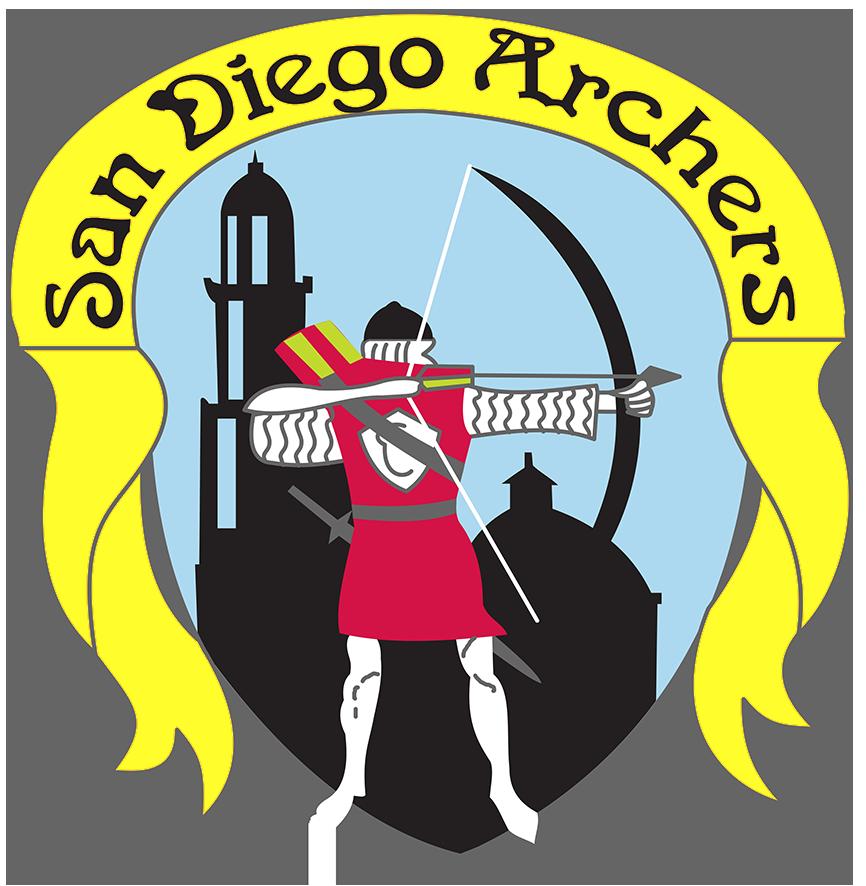 Hunter clipart medieval archer. San diego archers sandiegoarchers