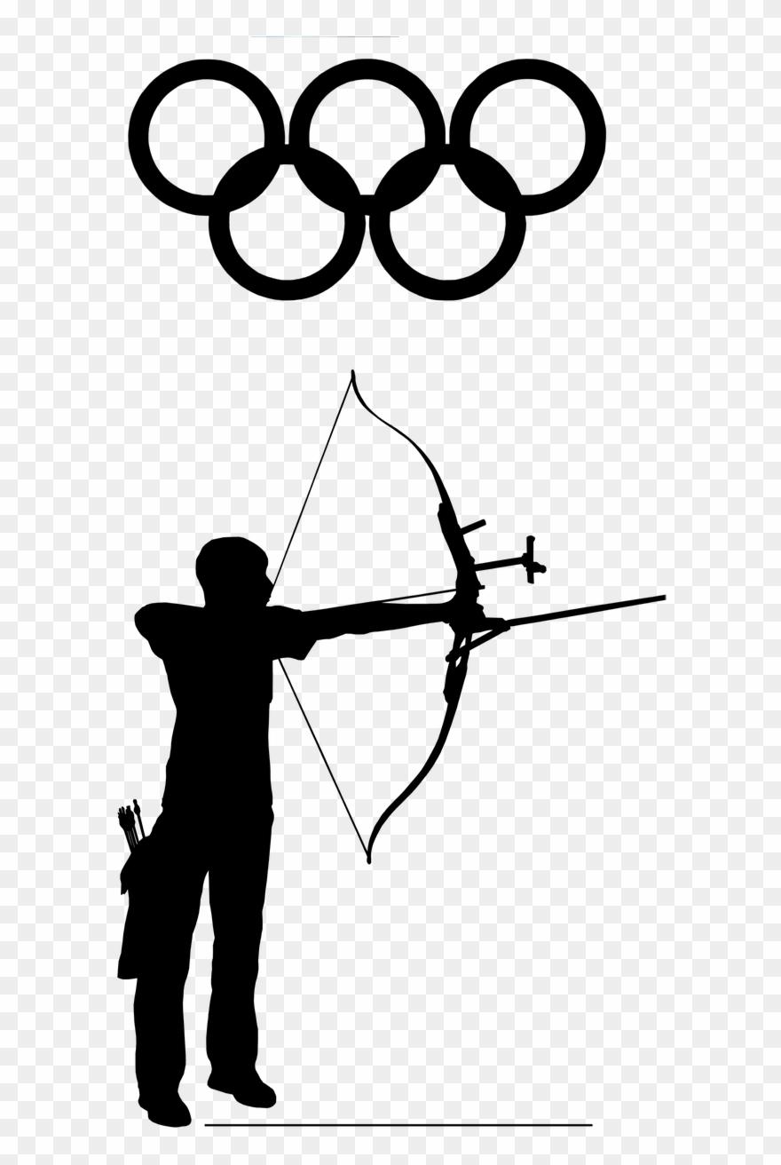 Archery clipart olympic archery. Archer sport png image