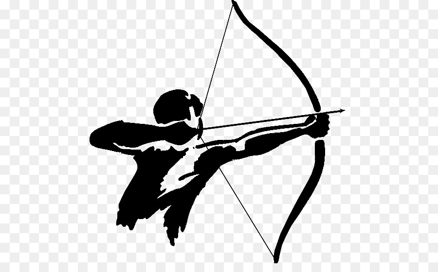 Tag bow and arrow. Bows clipart archery