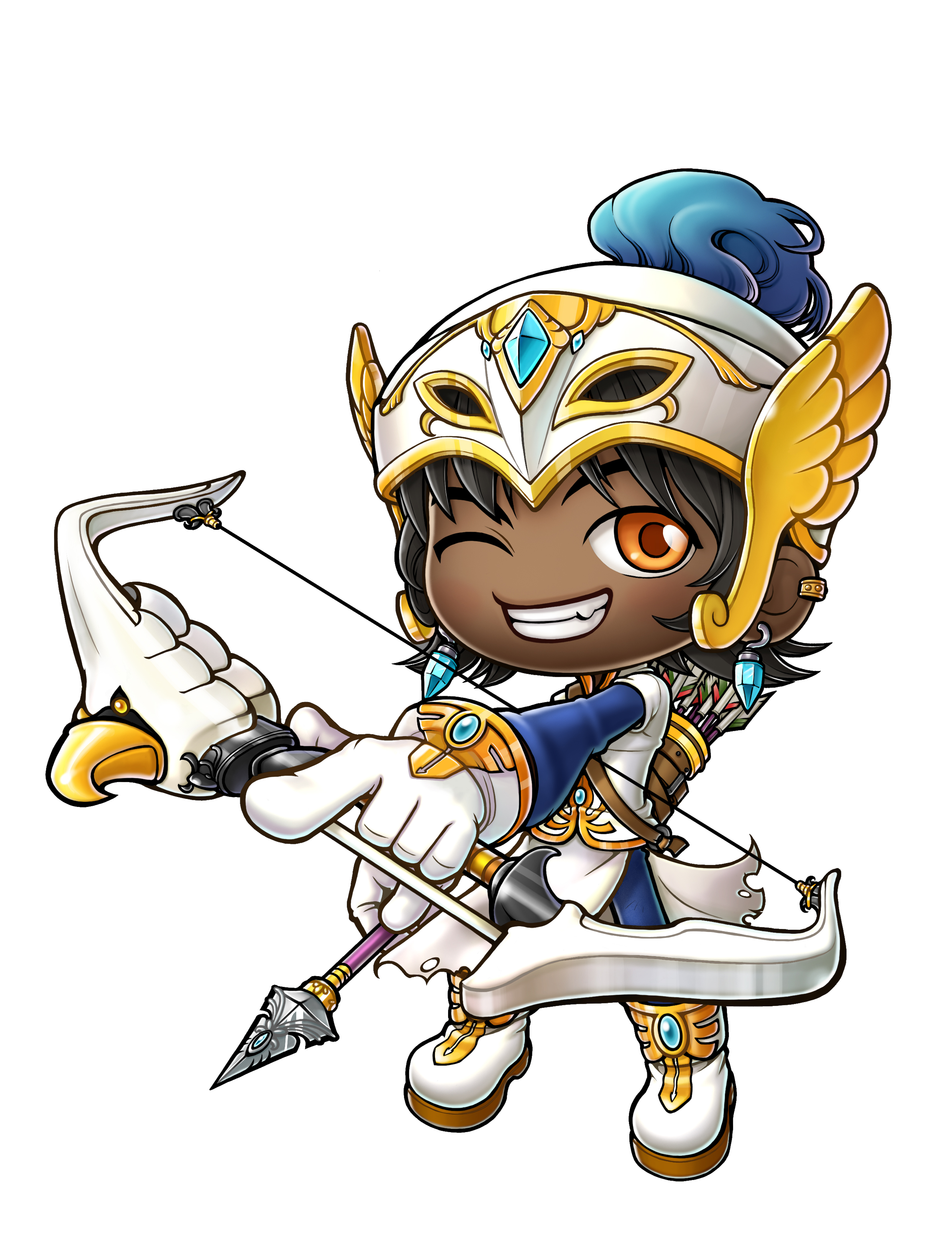 Archer clipart bowman. Kmst ver reorganization and
