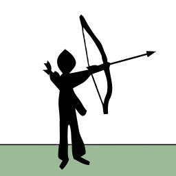 Archer clipart bowman. Game app ranking and