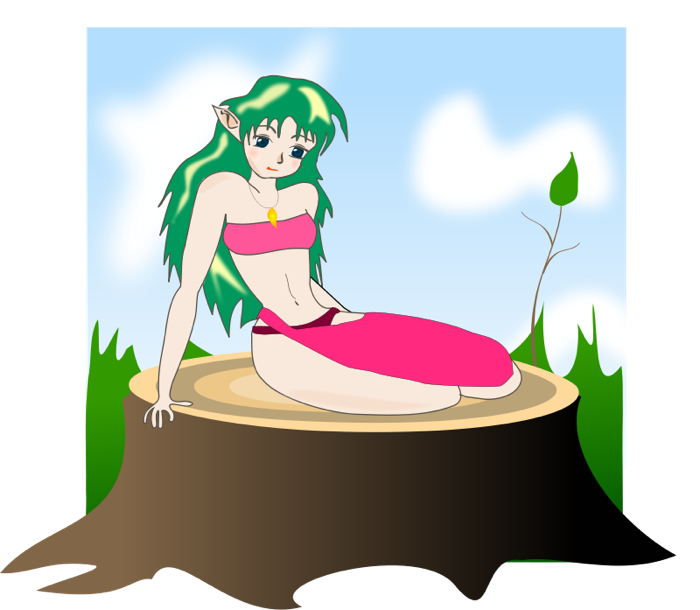Elf free graphics of. Clipart woman archery