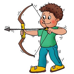 Archery clipart man. Art apps archer