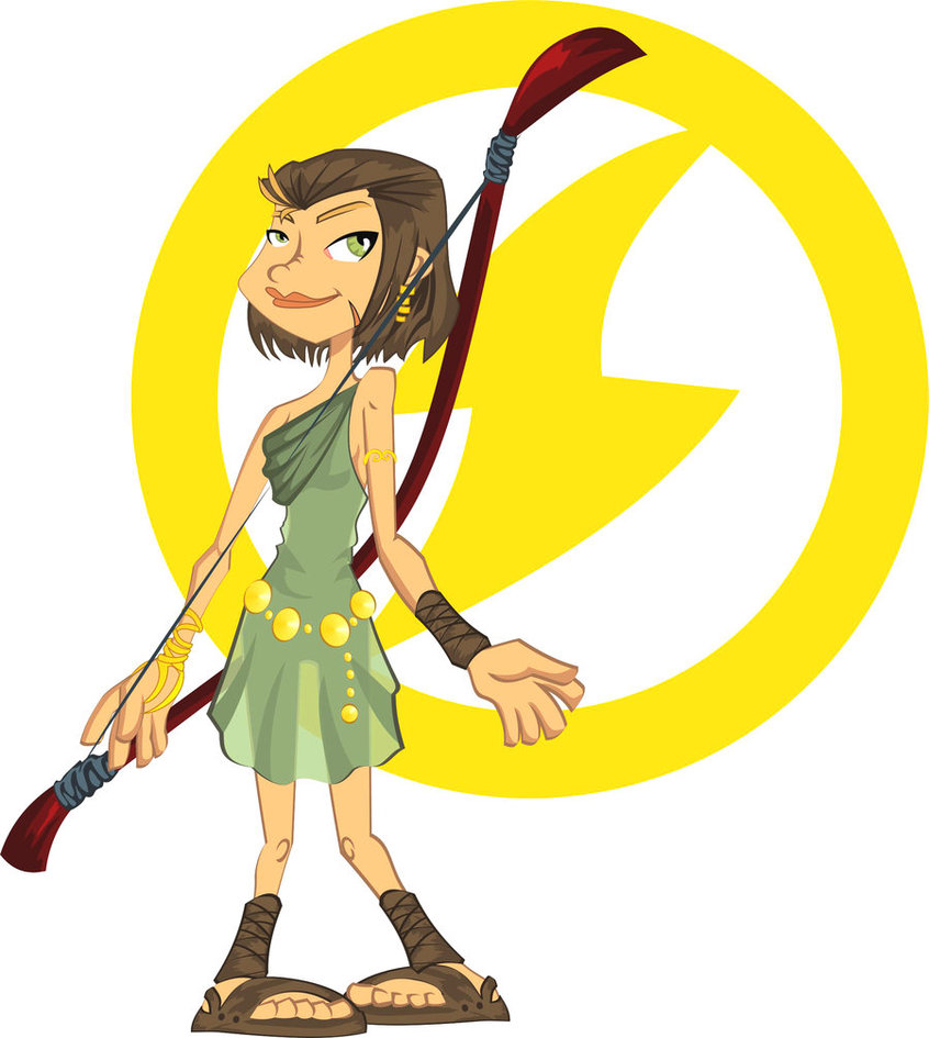 Archer clipart greek archer. Artemis goddess by jasonbacchi