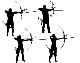Archer clipart greek archer. Archery art etsy svg
