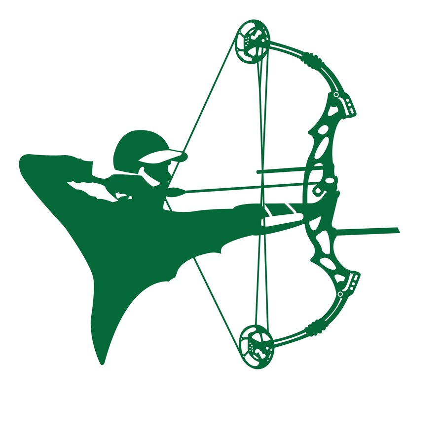Hunting clipart compound bow. Silhouette archer at getdrawings