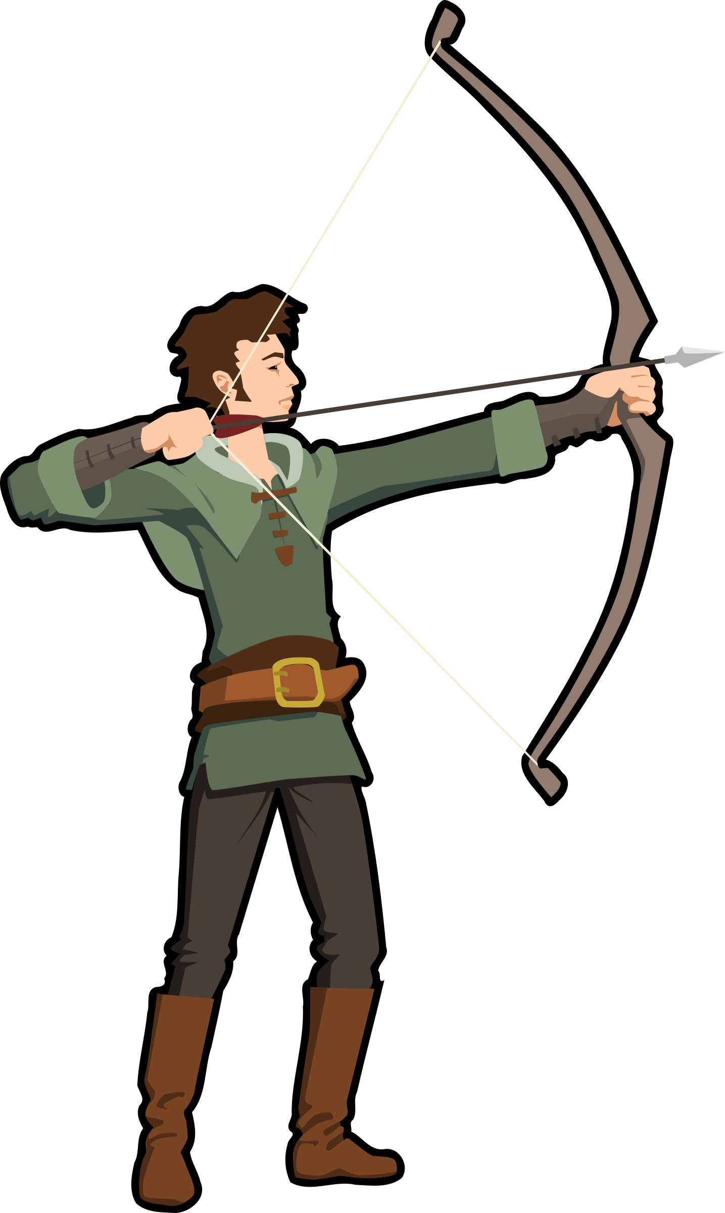 Archer big image png. Hungry clipart hungry person