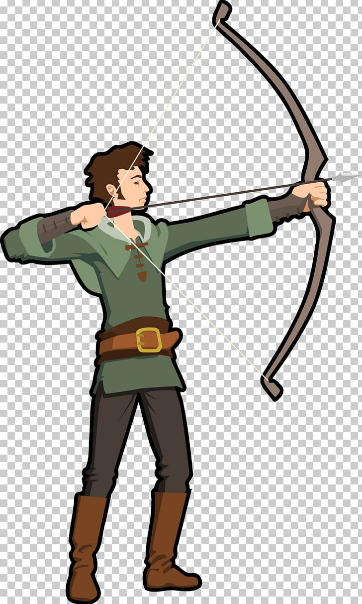 Bow and arrow png. Archery clipart hunting