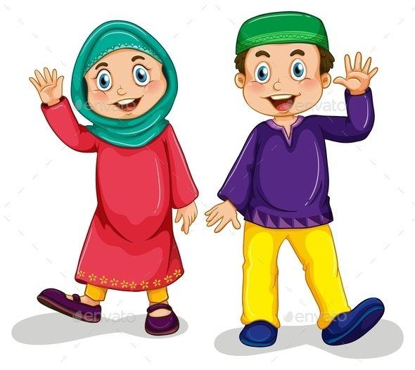Archer clipart kid.  best muslim images