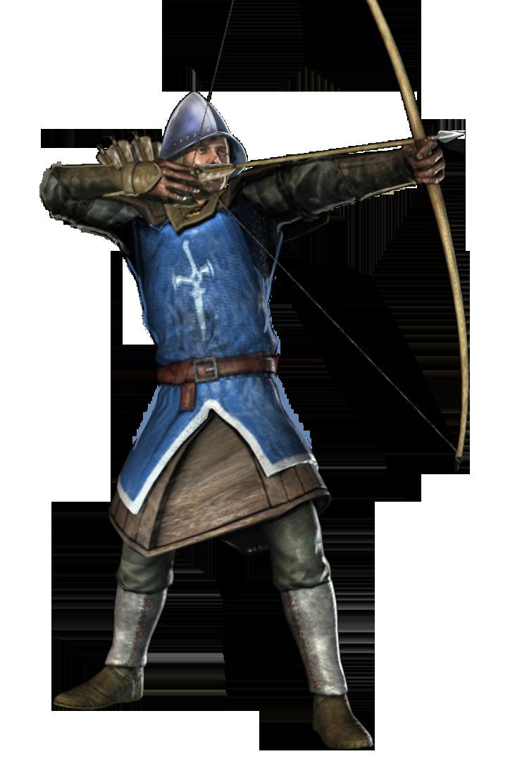 Archer clipart medieval archer. Transparent png mart