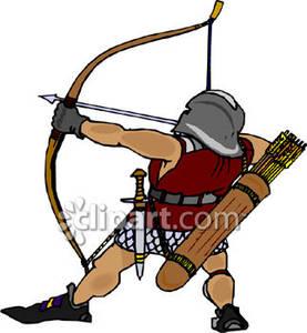 Archer . Bows clipart medieval