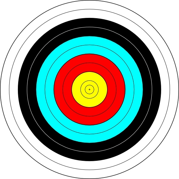 Archer clipart olympic archery. Target clip art free