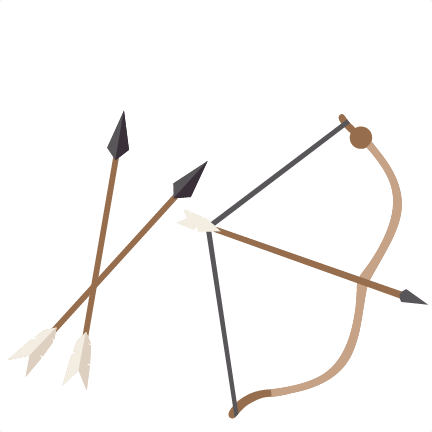 Archer clipart olympic archery. Bow and arrow silhouette