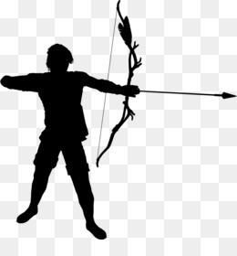 The app silhouette android. Archer clipart olympic archery