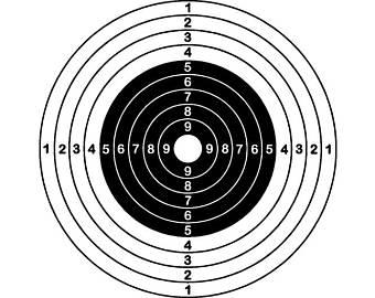 Archery clipart shooting range. Target art etsy sports