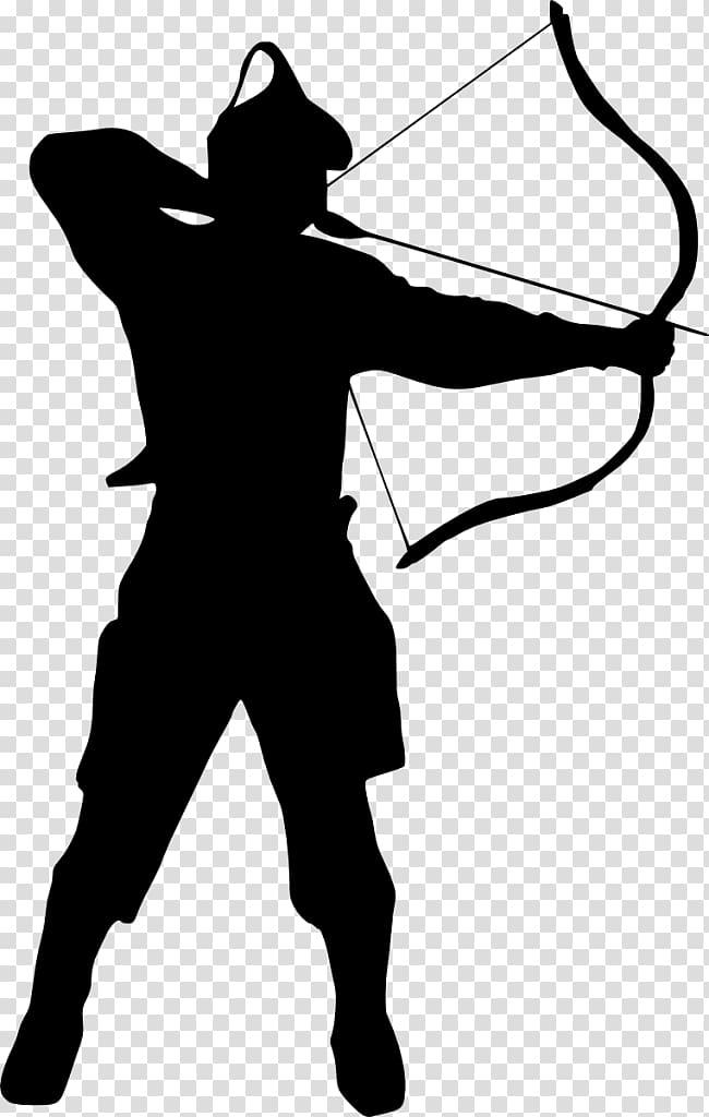 Silhouette transparent background png. Archery clipart archer