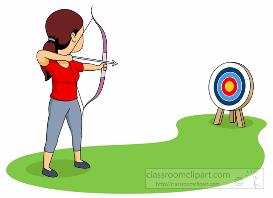 Sports free to download. Archery clipart