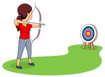 Archer clipart. Free archery cliparts download