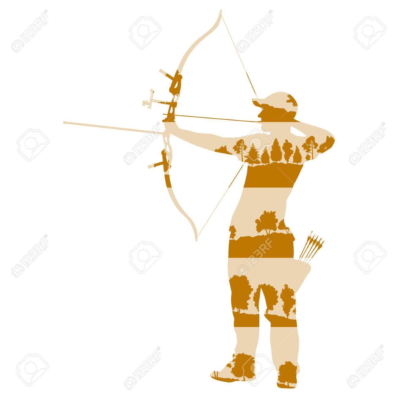 Free download clip art. Archery clipart abstract
