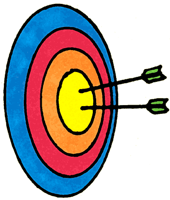 Archery clipart animated. Clipartix