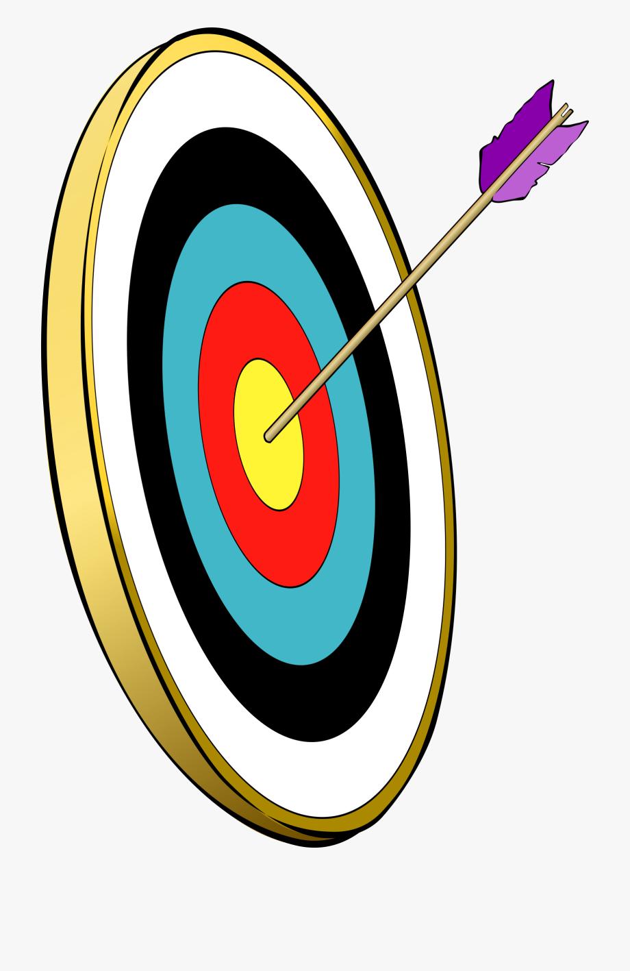 Hunter target free . Archery clipart archery bullseye