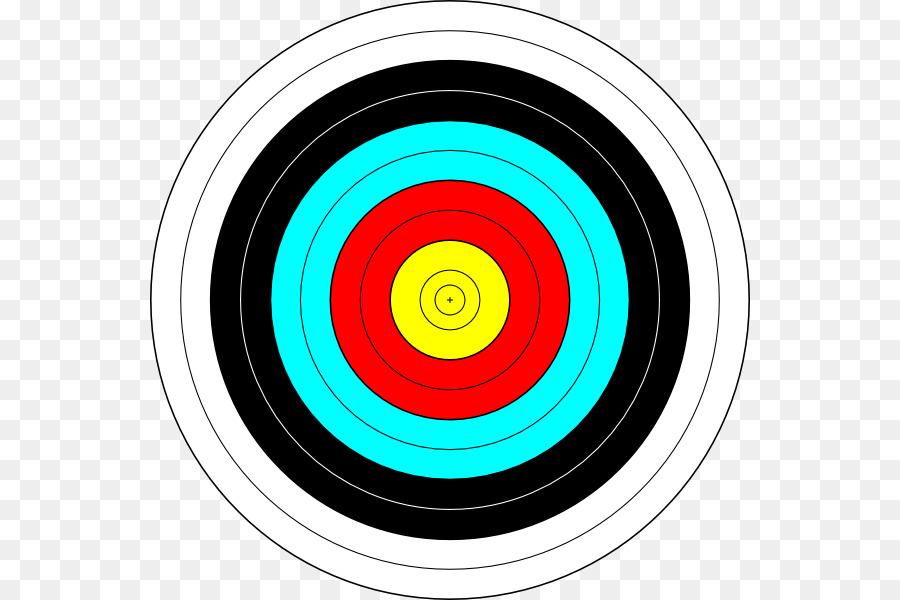 Archery clipart archery bullseye. Circle background arrow