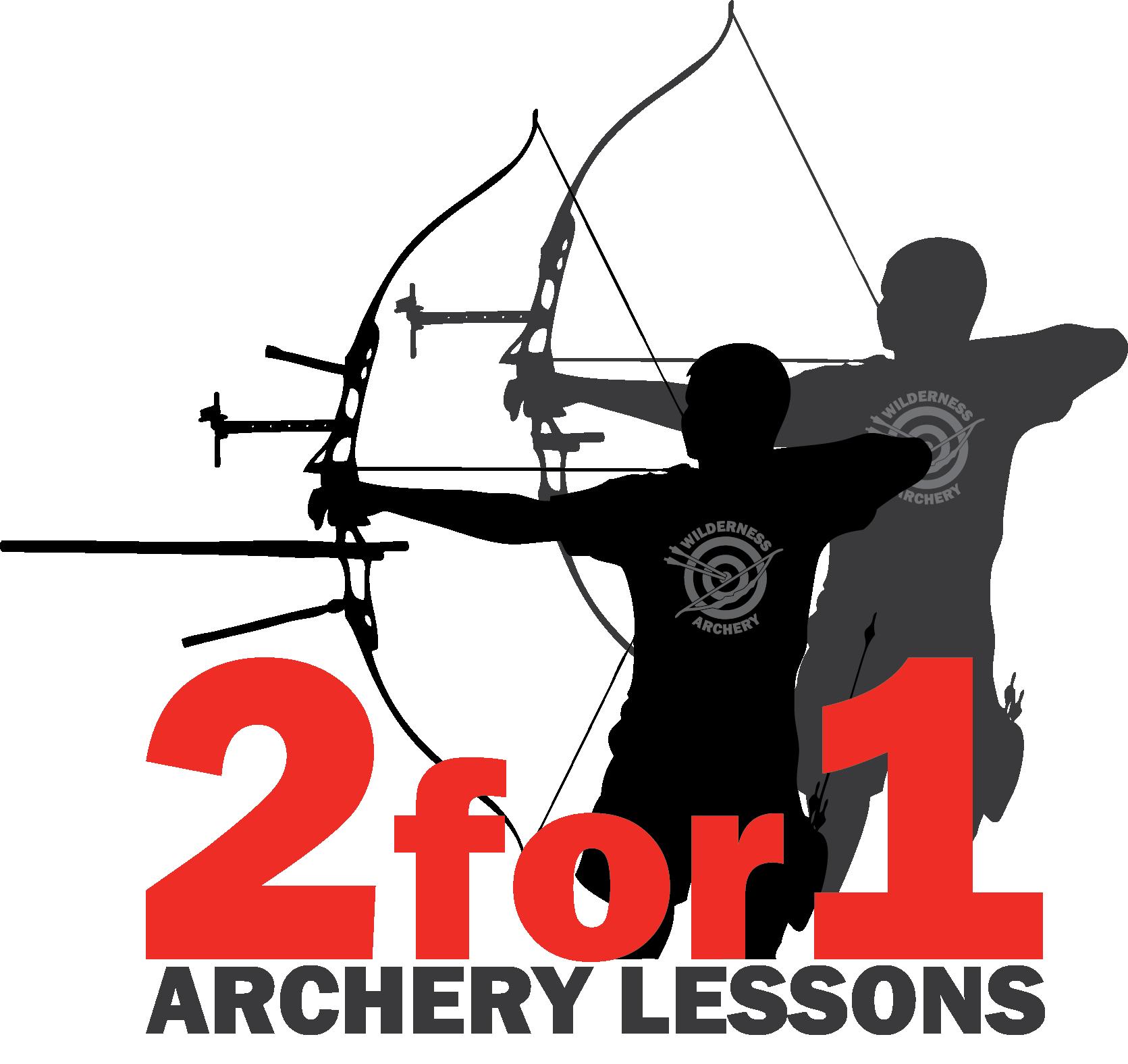 Archery clipart archery range. Family friends class wilderness