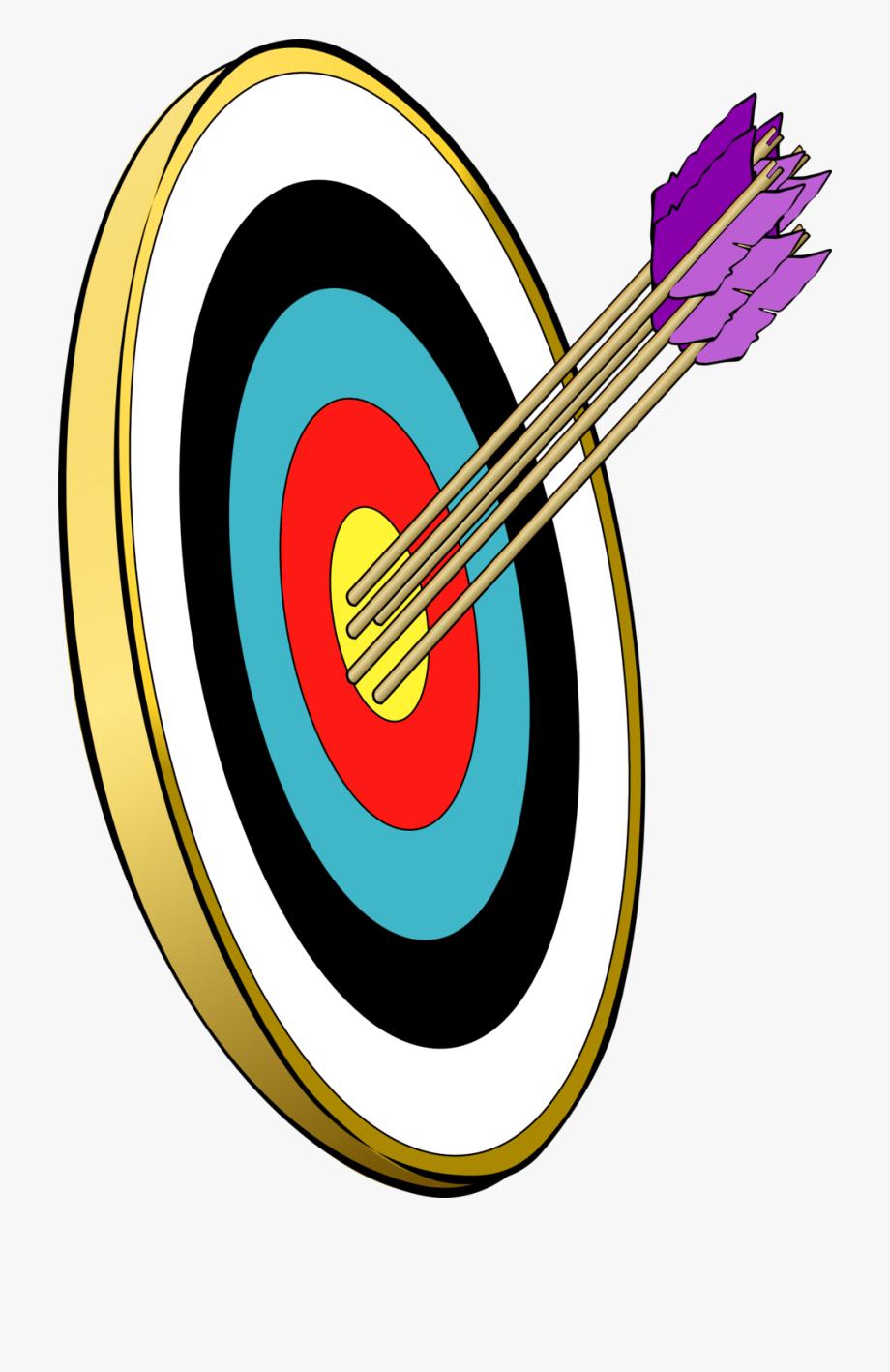 Archery clipart archery range. Target arrow shooting free