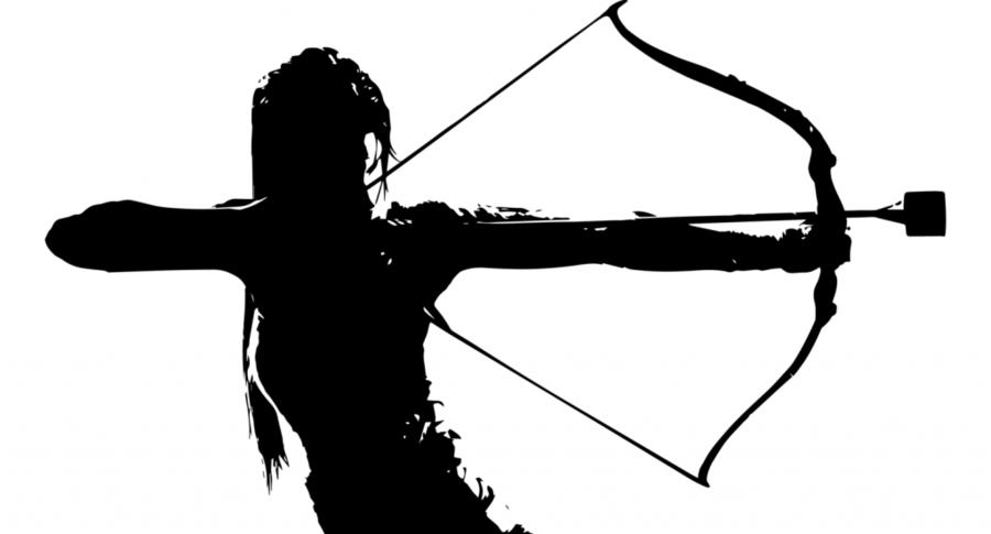 Archery clipart archery tag. Bow and arrow game