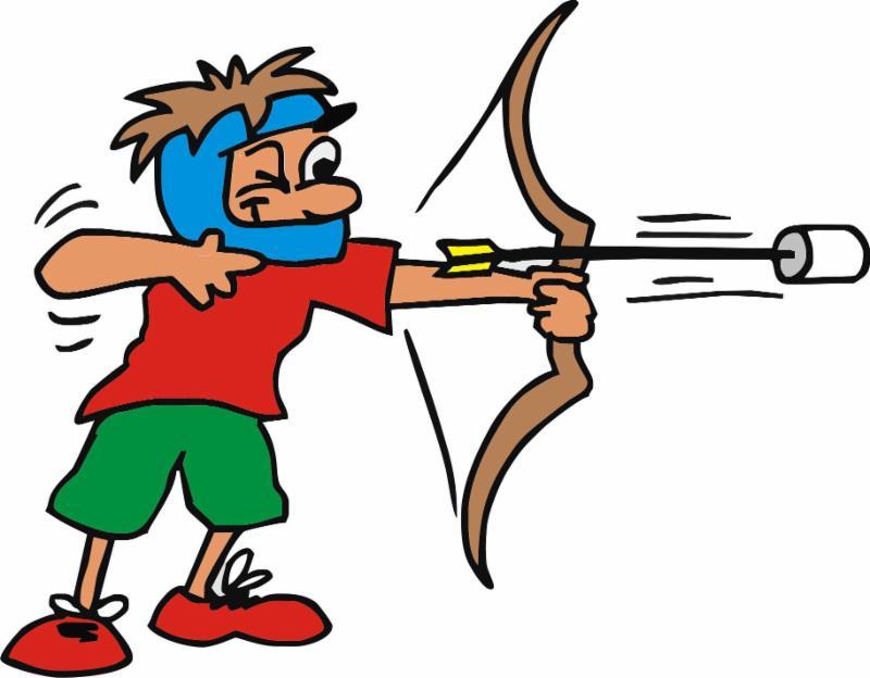 Archery clipart archery tag. Night fri jan th