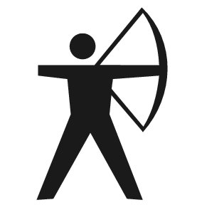 Archer clipart. Archery images wallpaper and