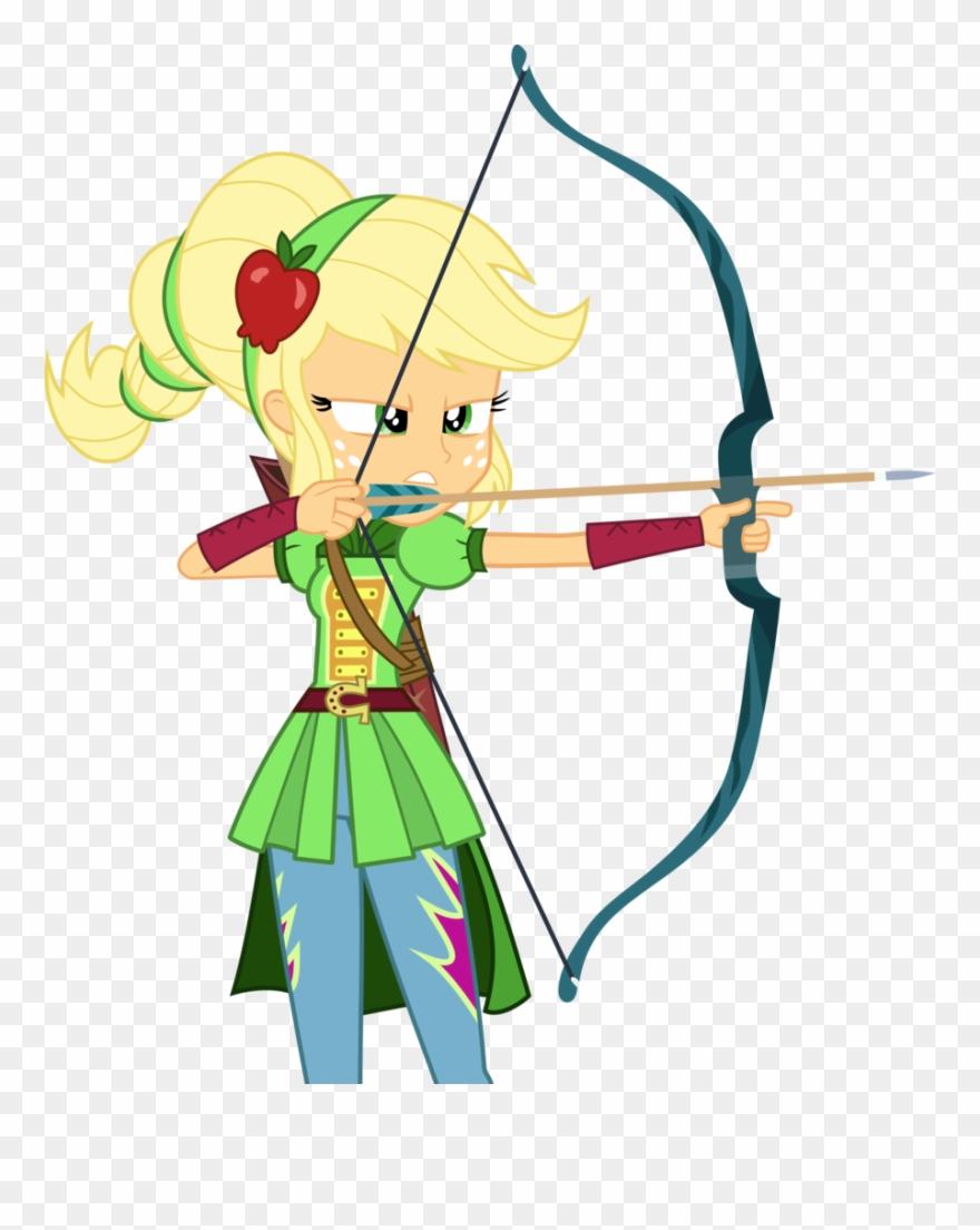 Svg freeuse stock applejack. Archery clipart background