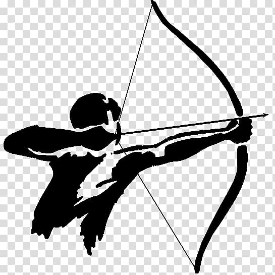 Archery clipart background. Archer illustration tag bow