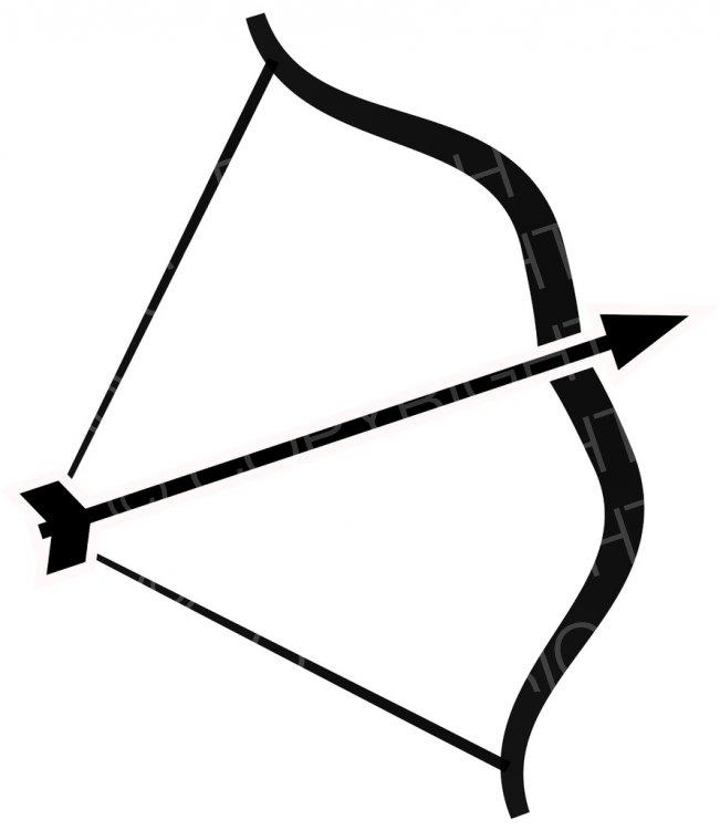 Archery clipart black and white. Bow arrow prawny clip