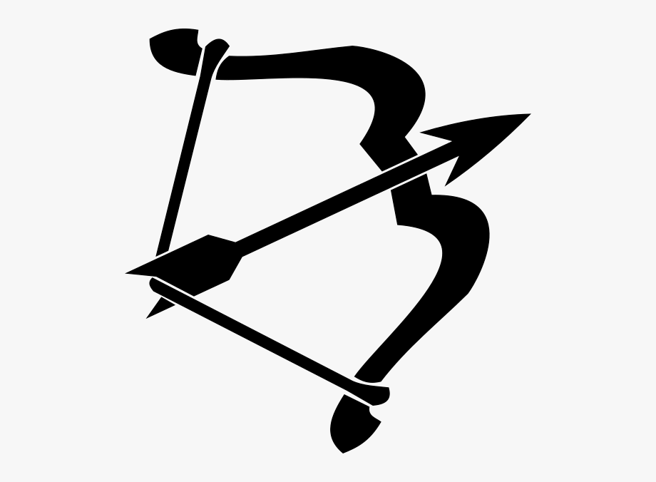 Archery clipart black and white. Svg free